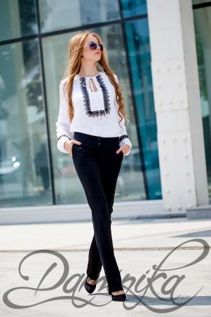 Daminika: Блуза в этно – стиле «Адель» 21608 - главное фото