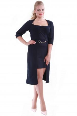 Alpama: Платье синее SO-13061-BLU SO-13061-BLU - главное фото
