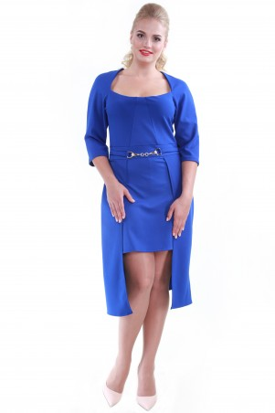 Alpama: Платье электрик SO-13061-ELB SO-13061-ELB - главное фото