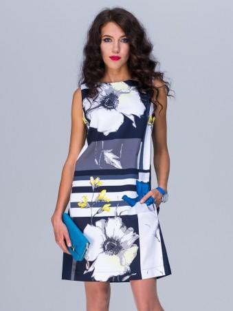 Jet: Платье МОЛЛИ Фиона синяя+синяя спинка 1147-2806-5430 - главное фото