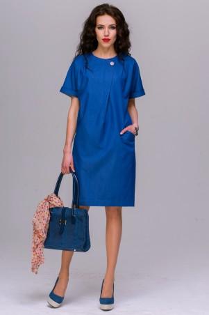 Jet: Платье ВИЛЬМА джинс синий 1028.1-5398 - главное фото
