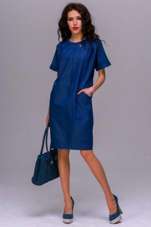 Jet: Платье ВИЛЬМА джинс темно синий 1028.1-5399 - главное фото