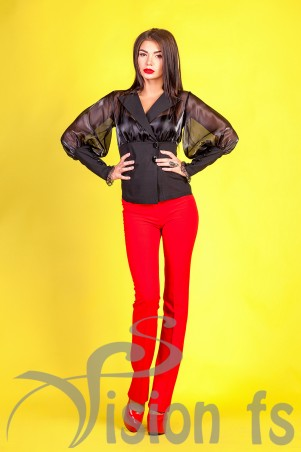 Vision FS: Эффектная блуза «Vogue» 16608 - главное фото