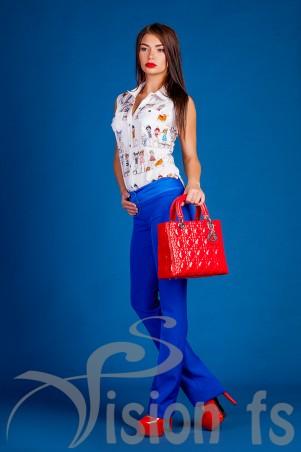 Vision FS: Стильная блуза «Тэкки» 16614 - главное фото