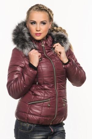 Кариант: Куртка зимняя Ксения слива - главное фото