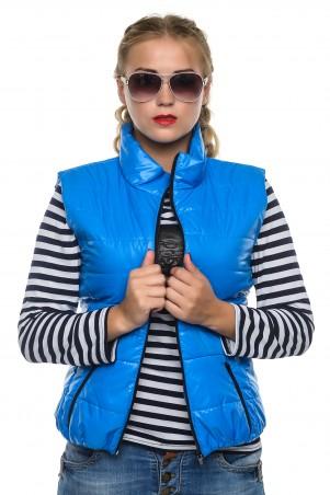 Кариант: Жилет деми Регина-голубой - главное фото