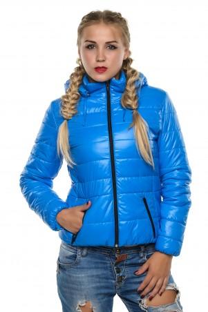 Кариант: Куртка деми Карина-голубой - главное фото