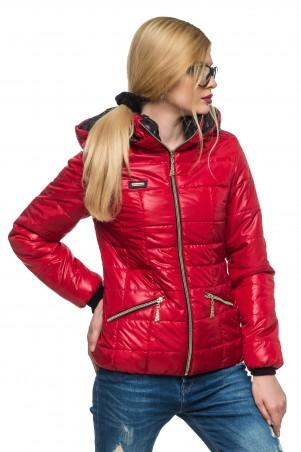 Кариант: Куртка деми Анжелика-красный - главное фото