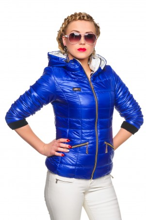Кариант: Куртка деми Анжелика-электрик - главное фото