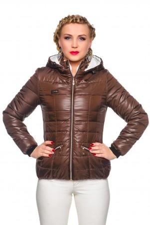 Кариант: Куртка деми Анжелика-шоколад - главное фото