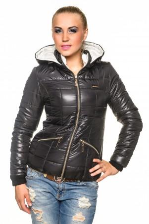 Кариант: Куртка деми Анжелика-черный - главное фото