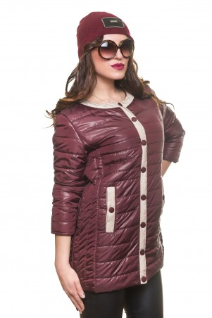 Кариант: Куртка деми Мари слива - главное фото