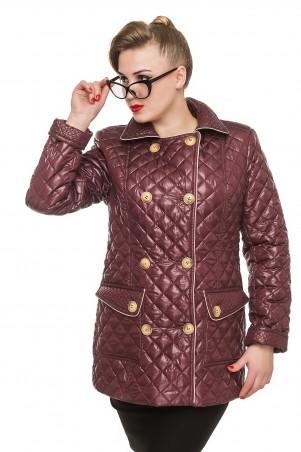 Кариант: Куртка деми Дина-бордо - главное фото