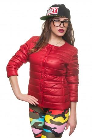 Кариант: Куртка деми Эмма-красный - главное фото