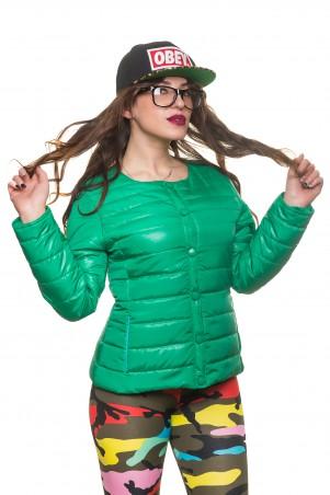 Кариант: Куртка деми Эмма-зеленый - главное фото