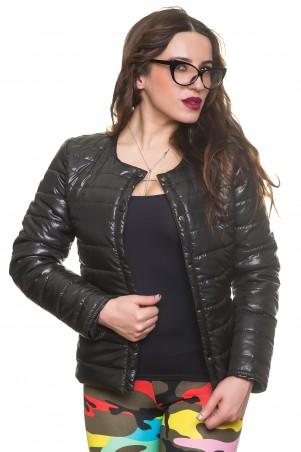 Кариант: Куртка деми Эмма-черный - главное фото
