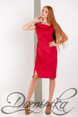 Daminika: Платье из замши «Olly» 11612 - главное фото