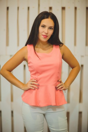 BIBI-Brand: Блуза с баской Летняя - главное фото