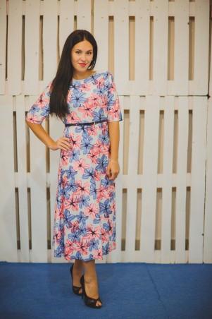 BIBI-Brand: Платье миди Цветочный принт - главное фото