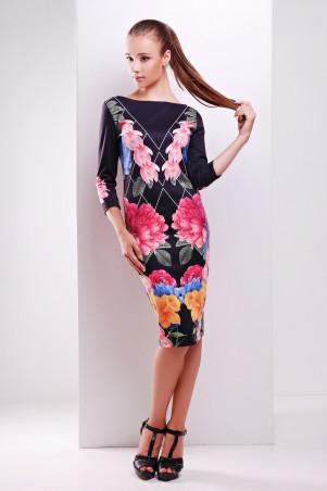 Glem: Платье Цветочный сад  Лоя-1Ф д/р - главное фото