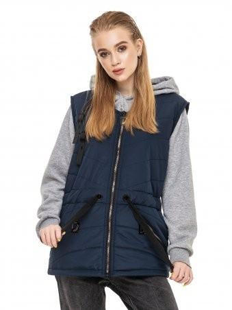 Кариант: Куртка зимняя Бетти синий - главное фото