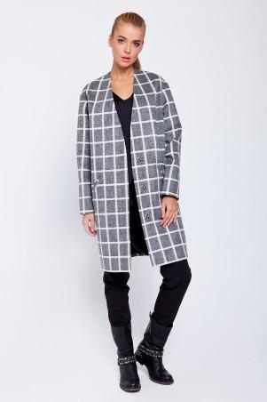 VM: Пальто клетка 3175 - главное фото