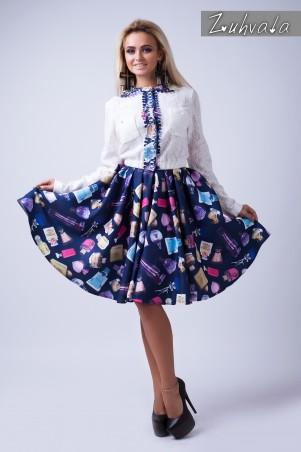 Zuhvala: Костюм(кофточка + юбка) Жаклин - главное фото