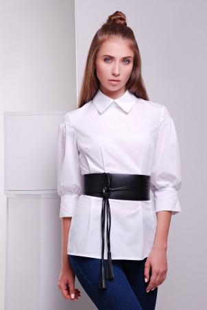 TessDress: Стильная блузка с поясом «Lily» 5050 - главное фото