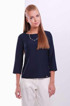 MarSe: Блуза 1620 темно-синий - главное фото