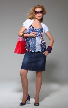 Feminelle: Джинсовая юбка для беременных 1378131 - главное фото