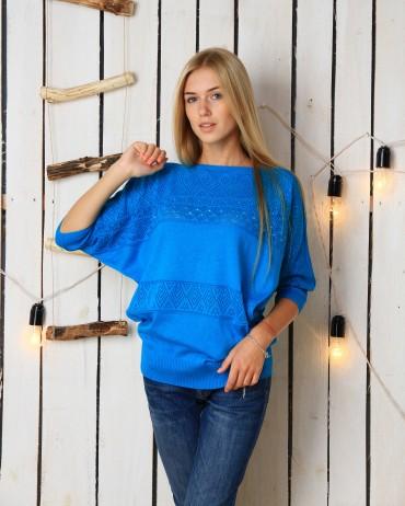 ALDI: Свитер Дарина голубой - главное фото