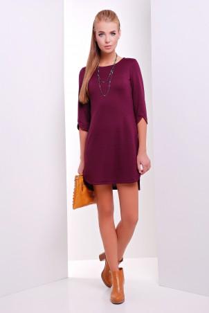 MarSe: Платье 1625 баклажановый - главное фото