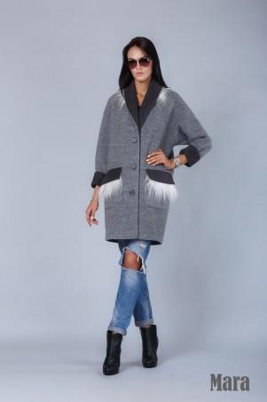 Angel PROVOCATION: Пальто на подкладке Mara - главное фото