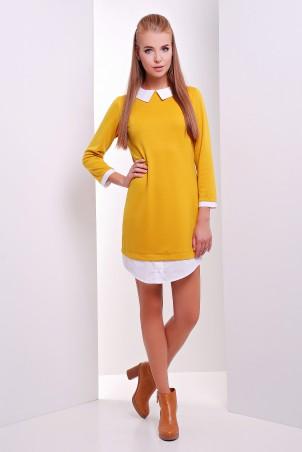 MarSe: Платье 1624 горчица - главное фото