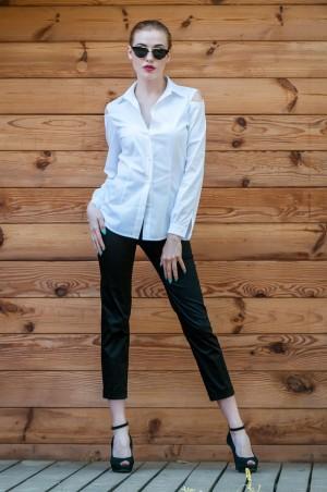 Ляпота: Рубашка с открытыми плечами 1035 - главное фото