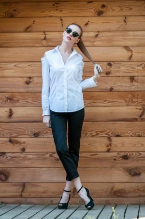 Ляпота: Черные укороченые брюки 2010-1 - главное фото