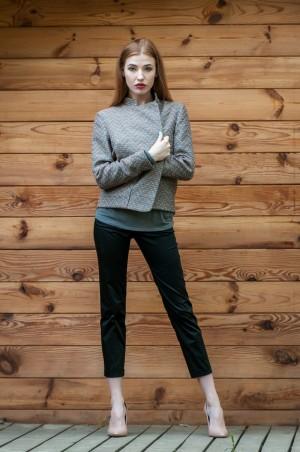 Ляпота: Жакет с накладными карманами 1039 - главное фото
