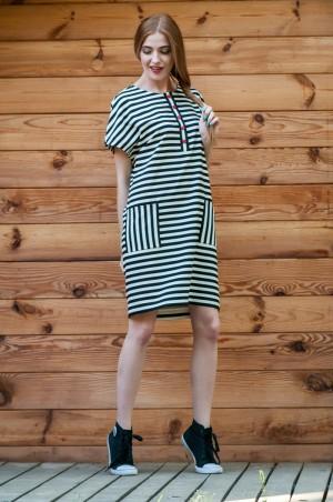 Ляпота: Платье в полоску 1038 - главное фото