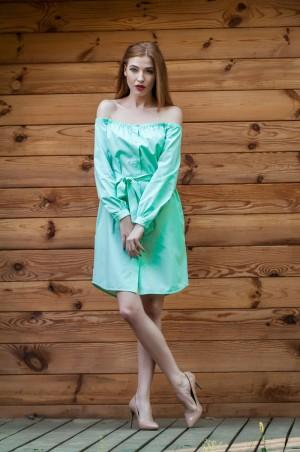 Ляпота: Платье с открытыми плечами 1034-1 - главное фото