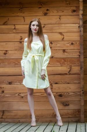 Ляпота: Платье с открытыми плечами 1034 - главное фото