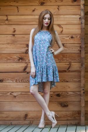 Ляпота: Платье в цвеочек 1030 - главное фото