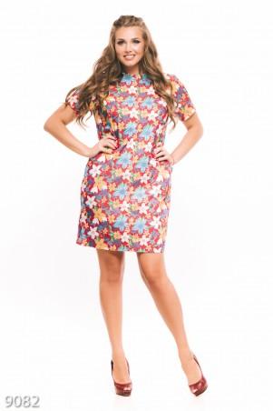 ISSA PLUS: Платья 9082_мультиколор - главное фото