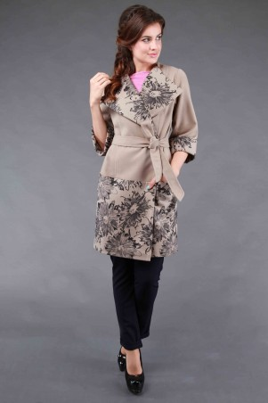 Alpama: Пальто SO-14008-BEG - главное фото