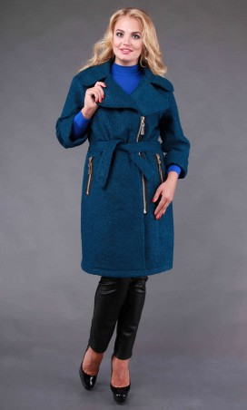Alpama: Пальто SO-14005-GRN - главное фото