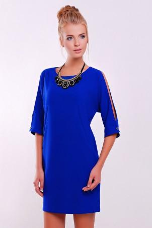 Zefir: Платье  с украшением в комплекте CHOKER синее - главное фото