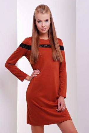 MarSe: Платье 1626 кирпичный - главное фото
