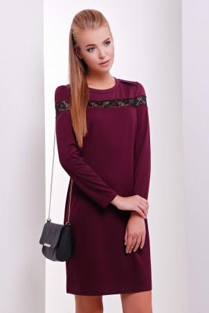 MarSe: Платье 1626 баклажановый - главное фото