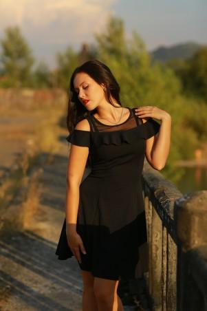 BIBI-Brand: Платье Ванесса чёрный - главное фото