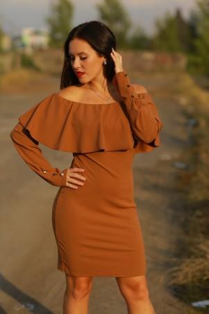 BIBI-Brand: Платье Памела горчичный - главное фото