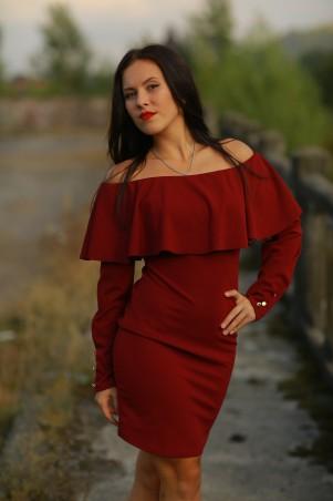 BIBI-Brand: Платье Памела марсала - главное фото